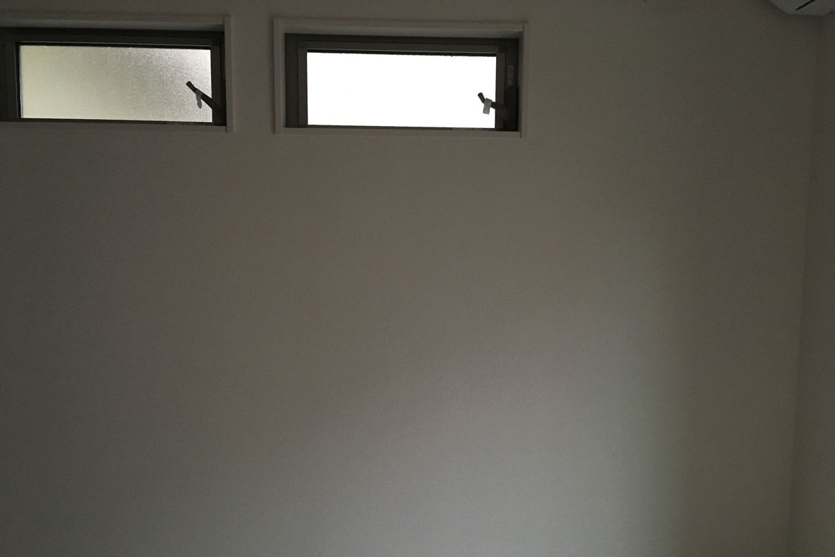 三重県津市のお客様から送られてきた壁の写真です。