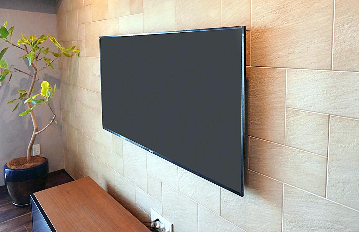 既存のテレビスタンドをそのまま継続使用した場合